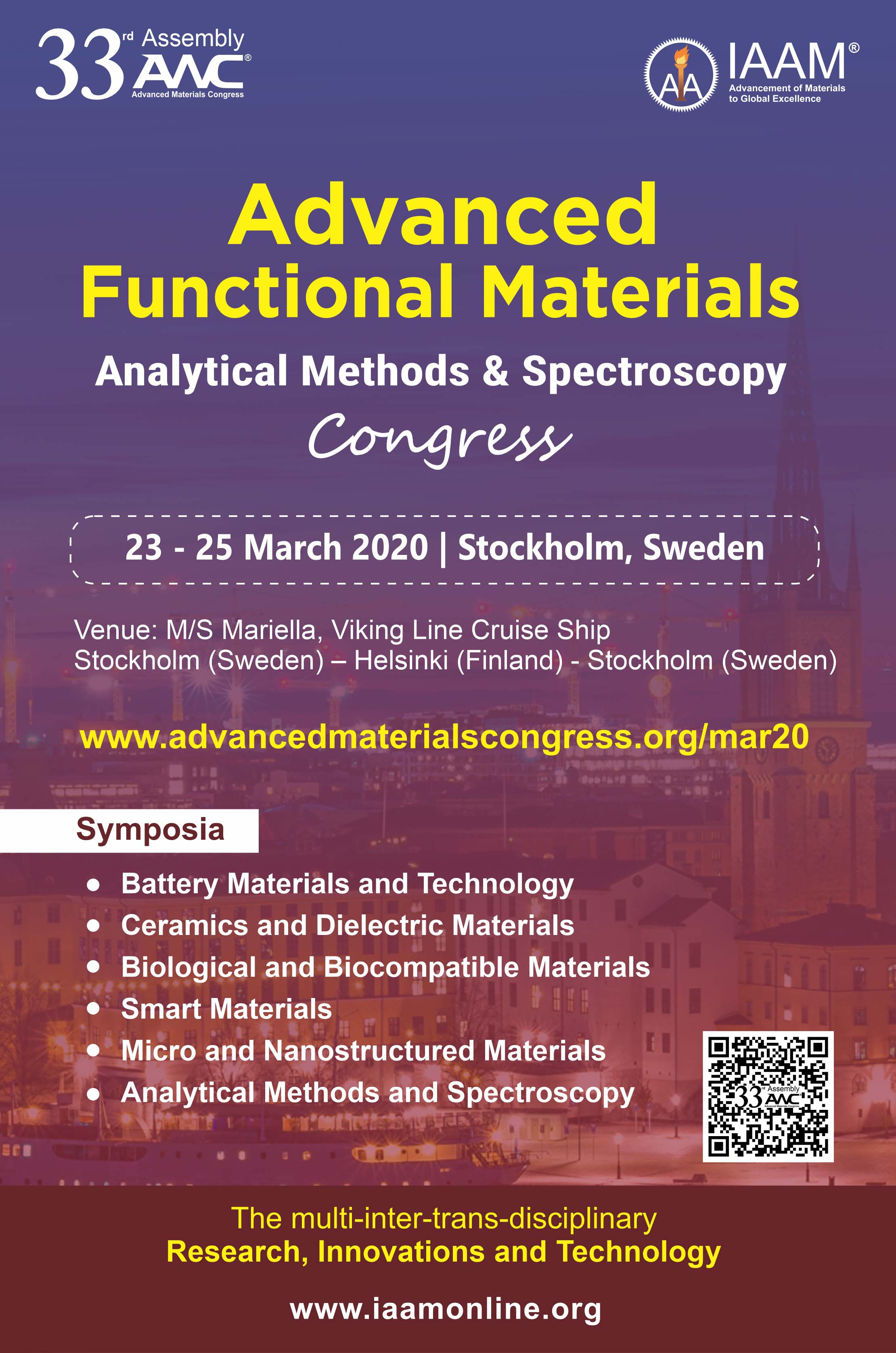 Advanced Functional Materials Congress | March 2020