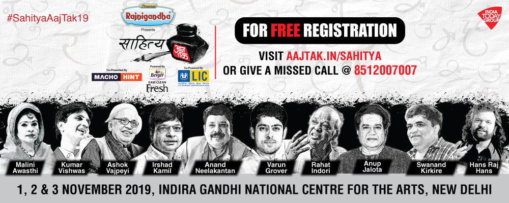 Sahitya Aaj Tak; India's Biggest Literature Fest Is Back