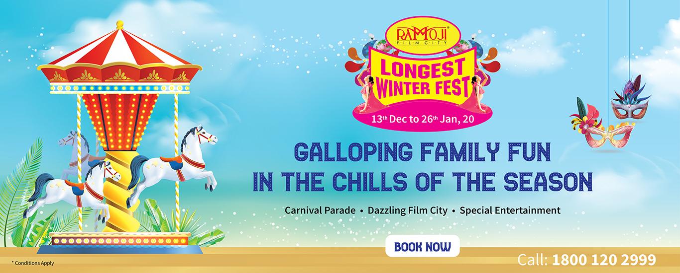 Ramoji Film City Winter Fest