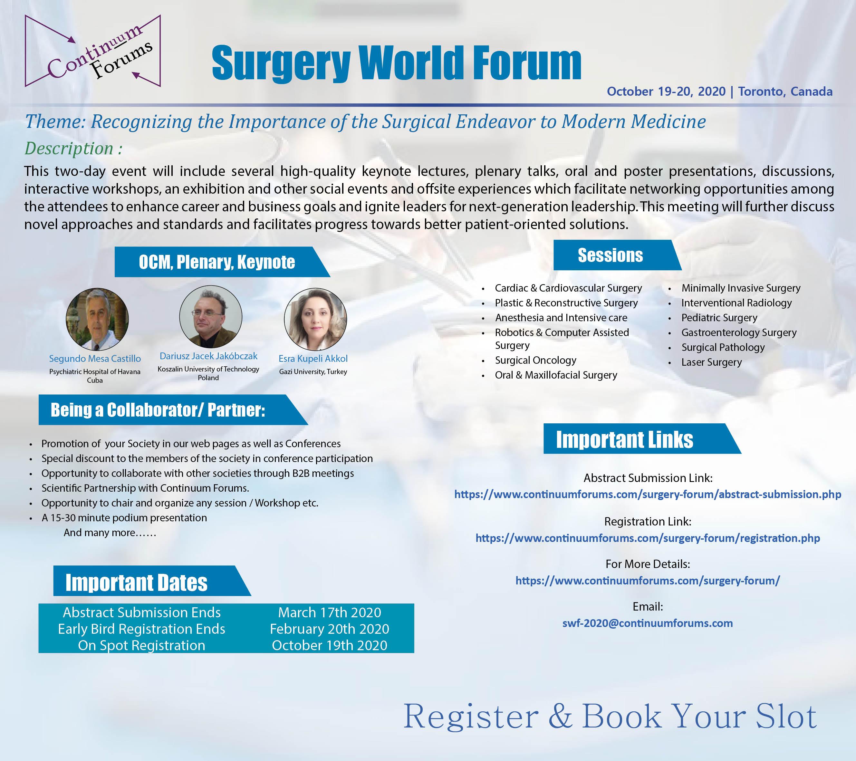 Surgery World Forum