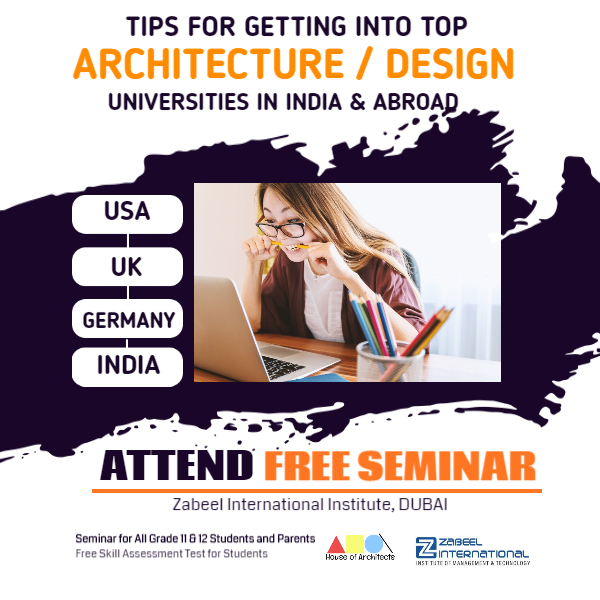 Tips for getting into Top Architecture Design Universities in India and Abroad
