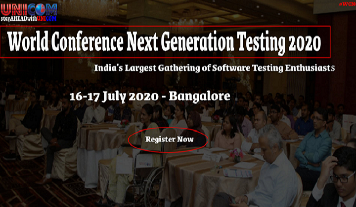 World Conference Next Generation Testing 2020