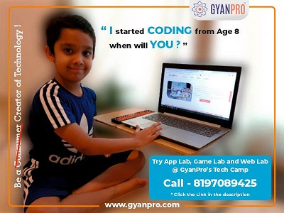 TECH CAMP 2020 FOR KIDS BY GYANPRO