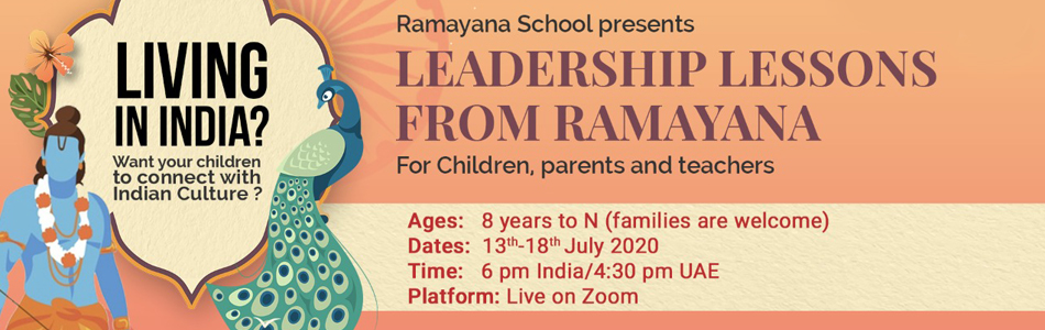 Online Ramayana Leadership Lessons Workshop for Children & Families