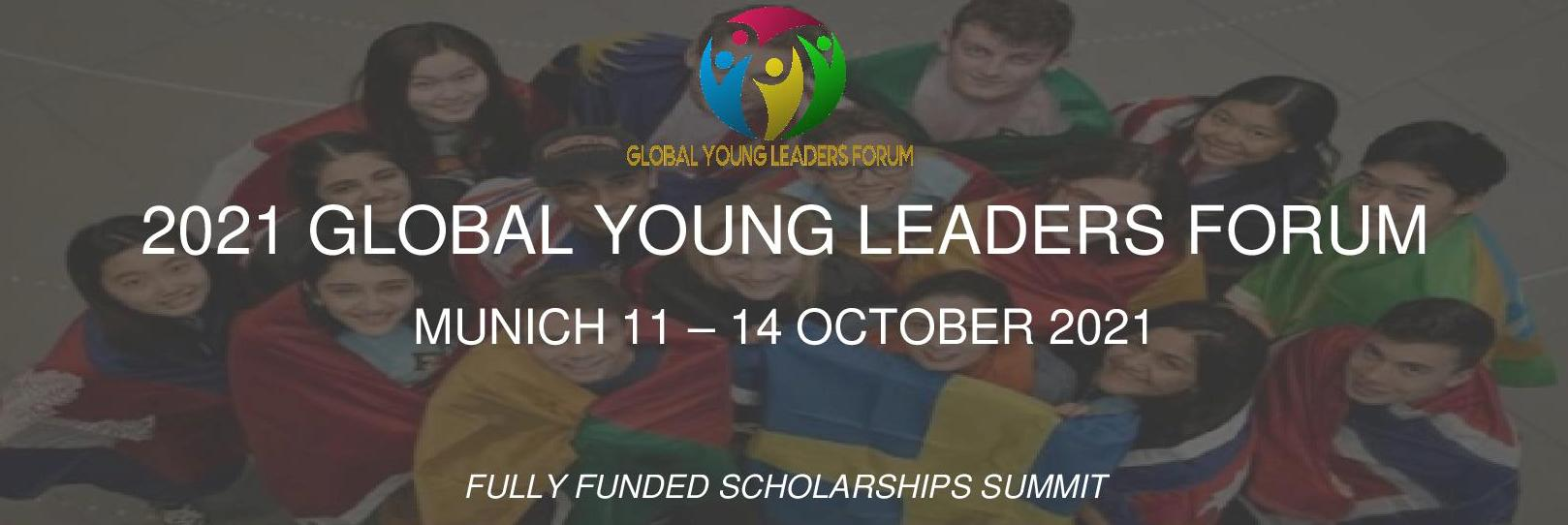 Fully Funded Scholarships Global Young Summit 2021 in Germany