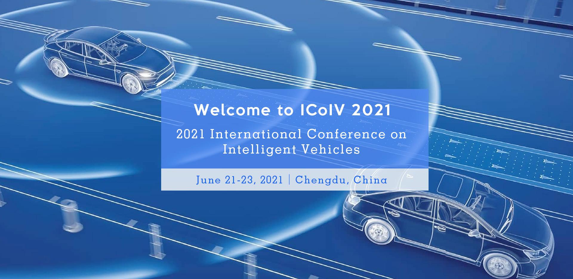 2021 International Conference on Intelligent Vehicles (ICoIV 2021)