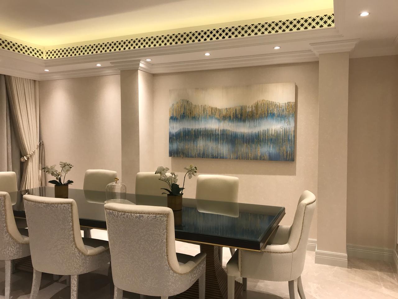canvas framing services in Dubai
