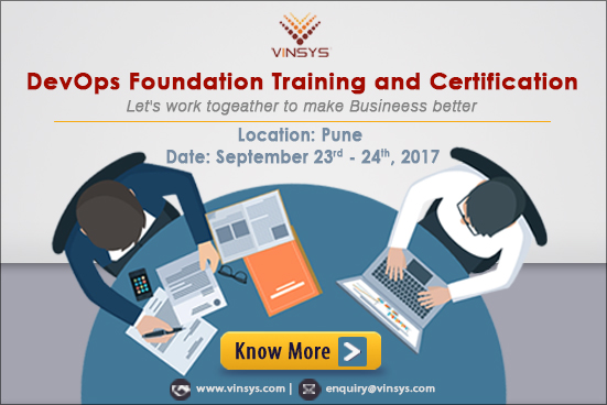 DEVOPS Foundation Certification Training in  Pune