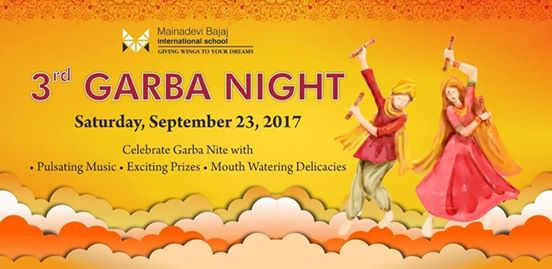 Garba Nite at MBIS