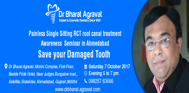 Painless Single Sitting RCT root canal treatment Awareness Free Seminar in Ahmed