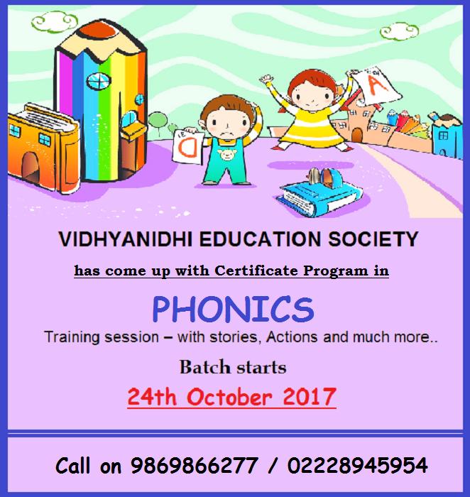 Phonics Teacher Training Certification Program