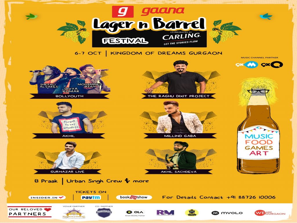 LAGER n BARREL Festival in Gurugram
