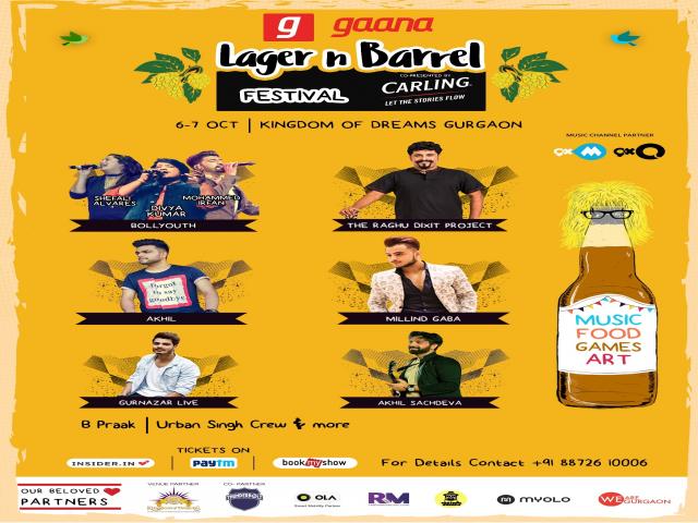 LAGER n BARREL Festival in Gurugram
