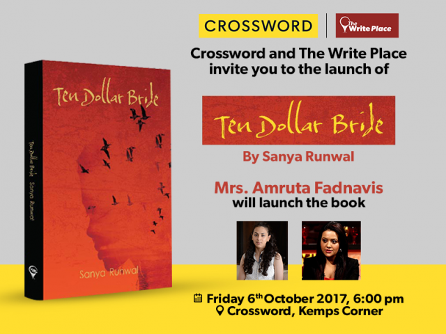 Amruta Fadnavis to launch Sanya Runwal's book
