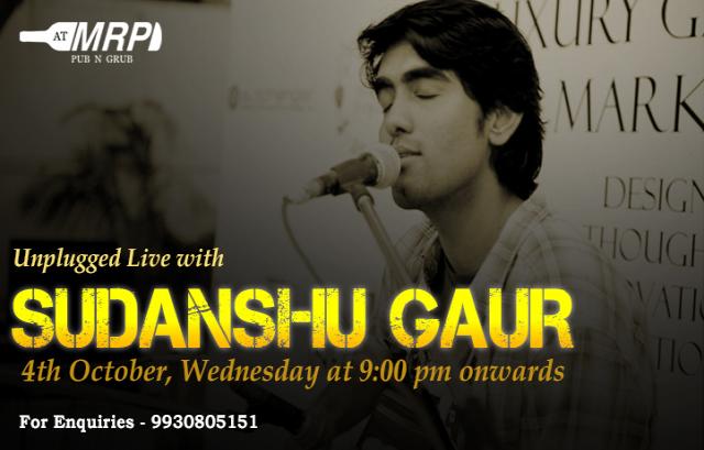 Unplugged Live with Sudhanshu Gaur