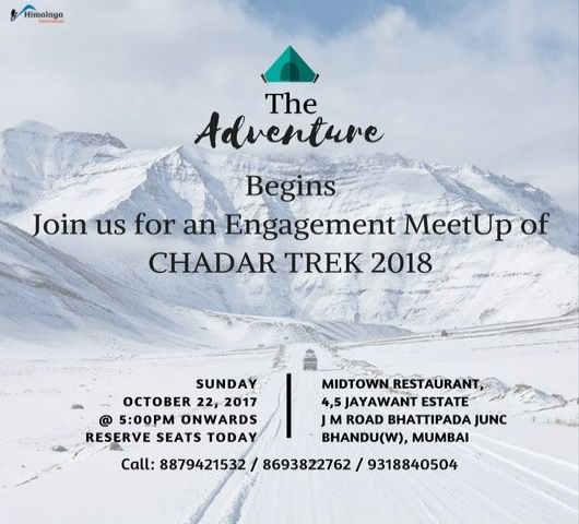 Chadar Trek Meetup