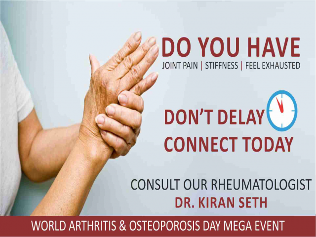 World Arthritis & Osteoporosis Day Mega Event