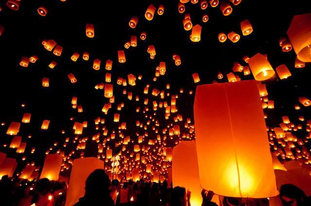 Lantern festival, Jaipur