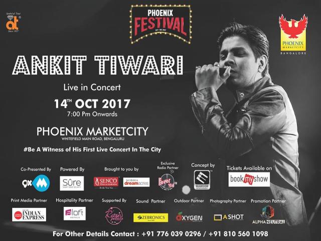 Ankit Tiwari Live in Concert Bangalore