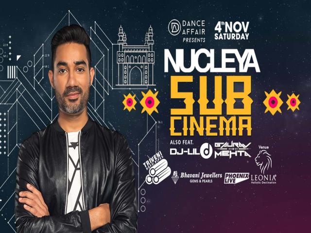 Nucleya Live in Hyderabad | November 4th