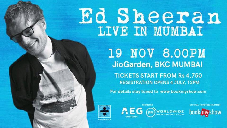 Ed Sheeran - India Tour