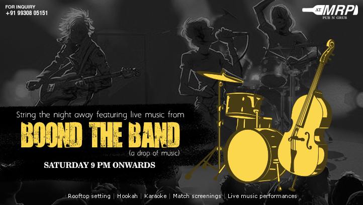 Live Music with Boond The Band