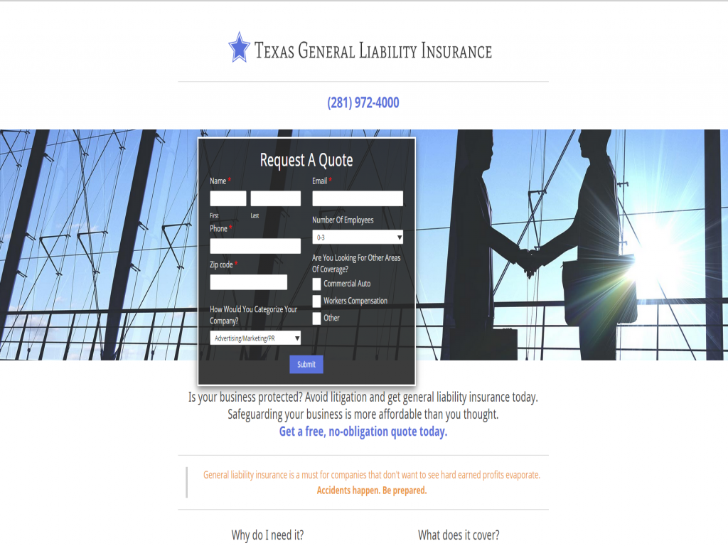 What Makes TX General Liability Insurance  So Special?