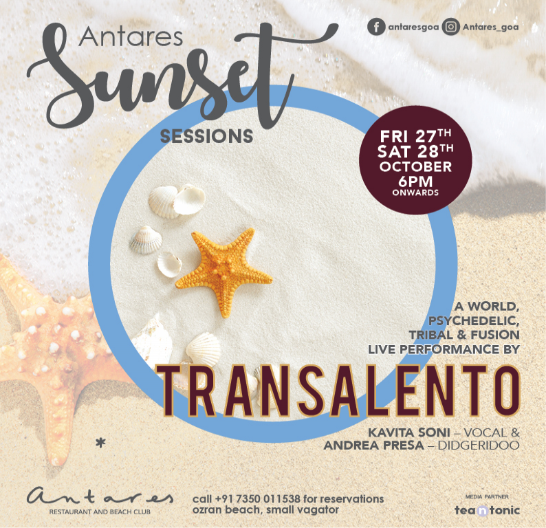 Sunset sessions at Antares Restuarant