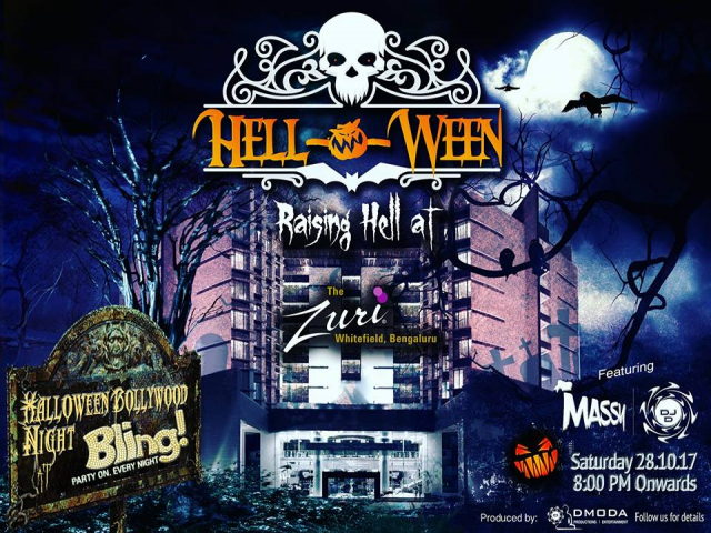 Hell-O-Ween  Raising hell at Zuri