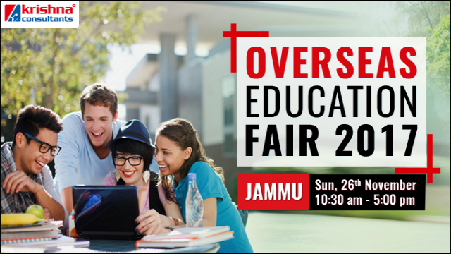 Overseas Education Fair Event on 26th Nov at Radisson Blu Hotel, Jammu
