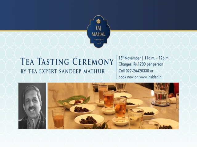 Tea Tasting Ceremony