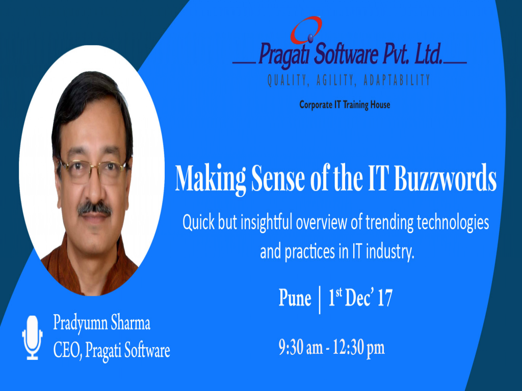 Making Sense of the IT Buzzwords (Seminar)