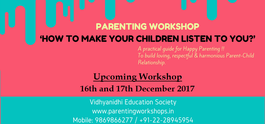 Parenting Workshop for Parents