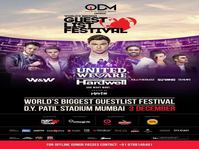 HARDWELL / W&W LIVE IN MUMBAI - 3 DECEMBER 2017