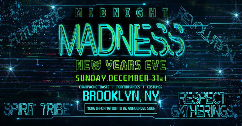 Midnight Madness 2018 - NYE Party