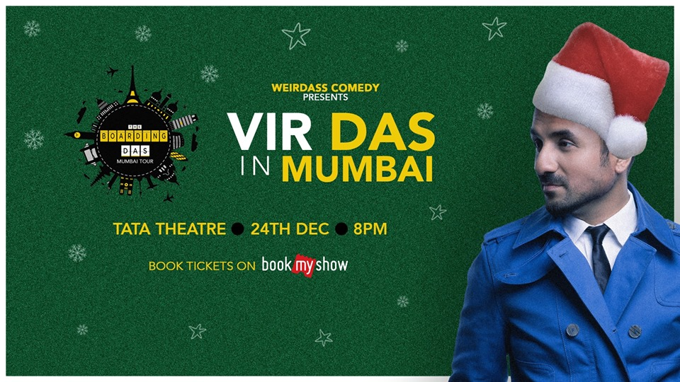 Vir Das in Mumbai BoardingDAS Tour