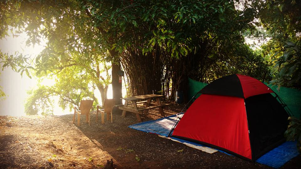 Overnight camping amidst Lonavala ranges