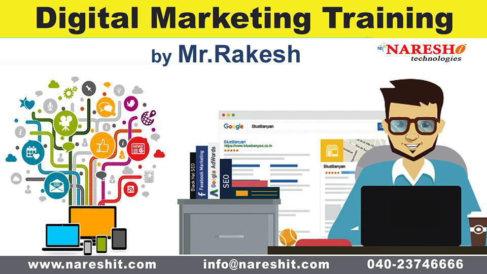Digital Marketing Training - Naresh i Technologies