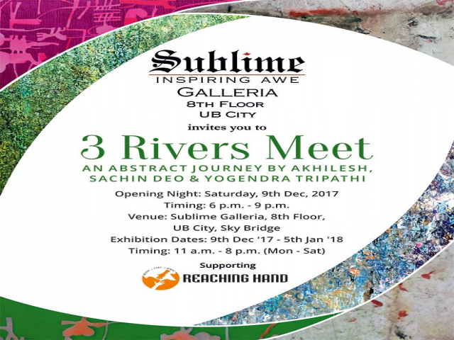 3 Rivers Meet: An Art Show Curated by Suresh Jayaram