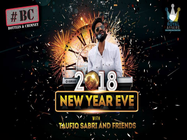 New Year Eve with Taufiq Sabri & Friends