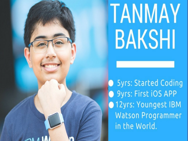 Talk by Tanmay Bakshi at Leadership summit