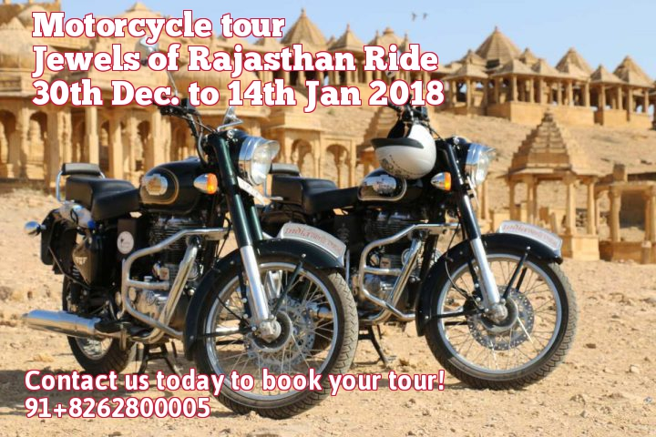 Motor cycle tour Jewels of Rajasthan Ride