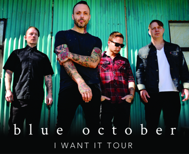 Blue October Tickets 2018