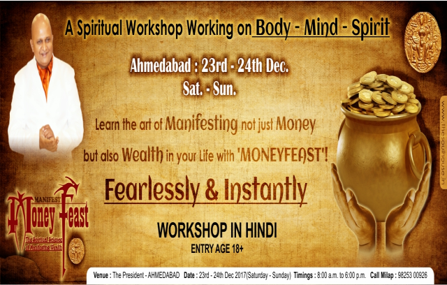 Money Feast Workshop - Spiritual Science of Manifesting Wealth