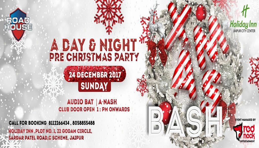 Xmas Bash: Club Road House 24th Dec
