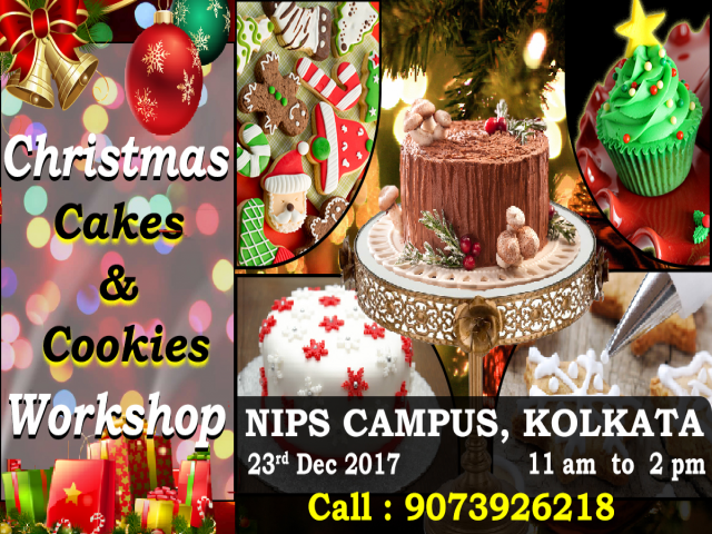 CHRISTMAS CAKE AND COOKIES WORKSHOP