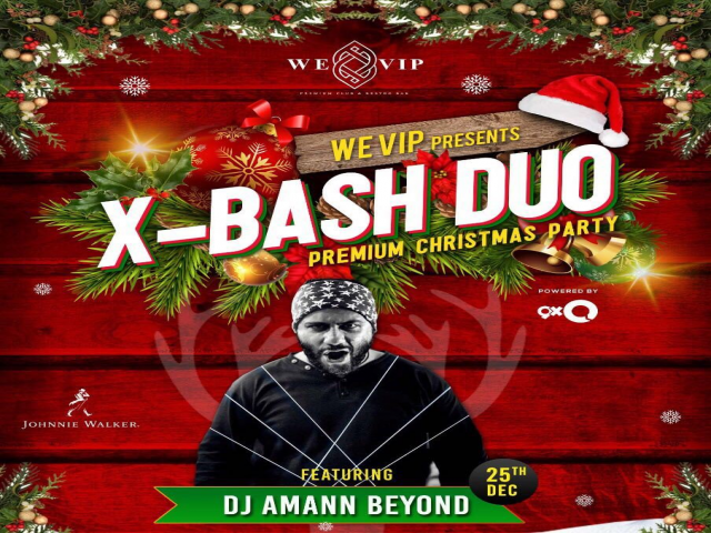 WE-VIP Premium Nightclub & Restrobar presents X-Bash Duo, the premium Christmas