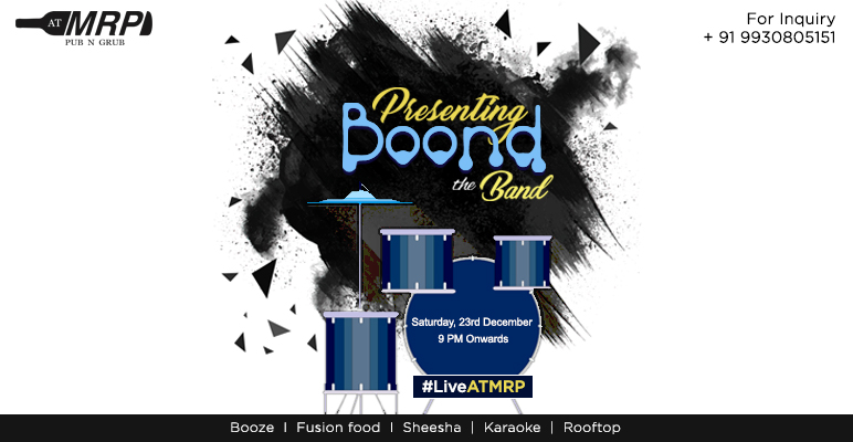 ATMRP Presents Boond The Band