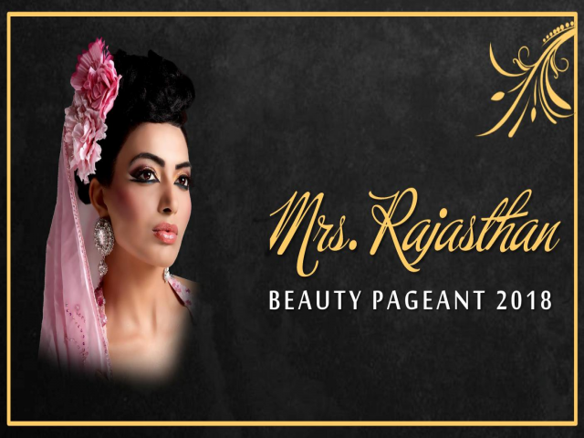 Mrs. Rajasthan Beauty Pageant 2018
