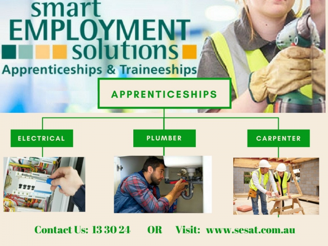 Career in Apprenticeships and Traineeships